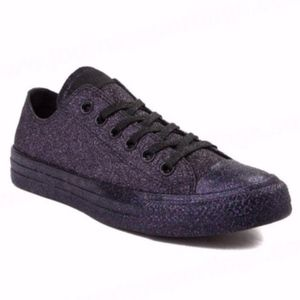 NEW CONVERSE Glitter Low Top Sneaker Shoes